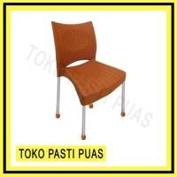 Khusus Gojek/Grab Kursi Plastik Bangku Senderan Casa Shinpo 268 -