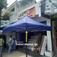 Bahan atap kain tenda lipat murah 2x2