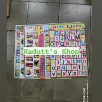 Poster Edukasi Anak Grosir Reseller Mainan Belajar Pembelajaran Murah