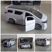 Diecast Mobil Alphard Suara & Lampu | Miniatur Mobil Alphard