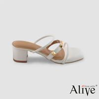 AliveLoveArts Monaco Sepatu Hak Tahu Stud Wanita