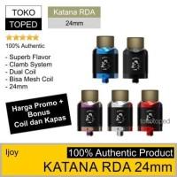 Authentic IJOY KATANA RDA | 24mm | 24 dual coil mesh