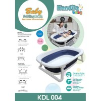 Kandila Baby Folding Baby Bathtub Bath Tub Bak Mandi Bayi Lipat KDL004