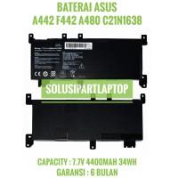 BATERAI ASUS C21N1638 A442 A442U A442UR X442 X442U F442 F442U A480