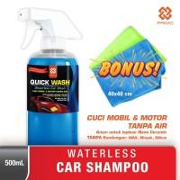 Waterless Car Shampoo PRIMO Quick Wash 500 mL + 2 Lap Microfiber 40x40