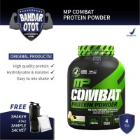 MUSCLE PHARM MP Combat Protein Powder - 4 lb Lbs Whey MusclePharm