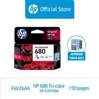 HP 680 Tri-color Ink Cartridge (F6V26AA)