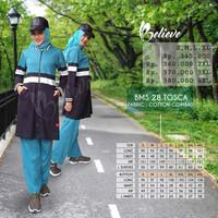 Setelan Olahraga Muslimah + Believe BMS 28 + Baju Olahraga Original