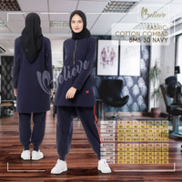 Baju Olahraga Muslimah + Believe BMS 30 + Setelan Olahraga Original