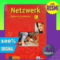 Netzwerk A1 - Buku Bahasa Jerman - 1 SET (ORIGINAL 100%) AGEN RESMI