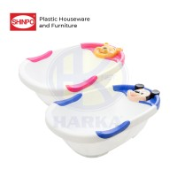 Baby Bathtub (Bak Mandi Bayi) SHINPO ANIMATO | SIP 702 Micky / Winnie