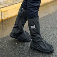 Rhodey Rain Cover Sepatu WaterProff Anti Air HuJan dll - IV3 - M