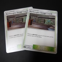 Pembangkit tenaga listrik trainer stadium kartu Pokemon tcg indo