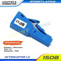 Attenuator LC 15dB Fiber Optik Adapter Atteunator LC 15dB FO