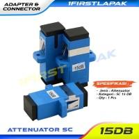 Attenuator SC 15dB Fiber Optik Adapter Atteunator 15dB FO