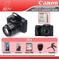 Jakarta Digital Canon Powershot Sx430 IS - WiFi - Paket