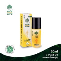 Safe Care Minyak Telon 3 Point Oil Aromatherapy Roll On 30 ml