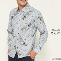 Baju Pria / Kemeja Batik Slimfit / Baju Pesta / Baju Keluarga D441
