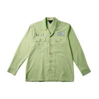 Kemeja Lengan Panjang Work Shirt Elders Company - Snake Hijau Olive