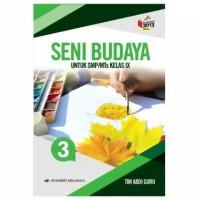 Buku Seni Budaya SMP Kelas 9 Tim Abdi Guru Penerbit ERLANGGA
