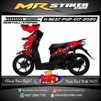 Decal Stiker Variasi motor Honda Beat POP Custom Suka-Suka