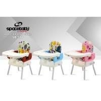 Space Baby SB 518 Booster Seat Chair Kursi Makan Bayi
