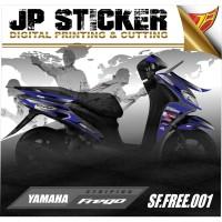 STRIPING FREEGO,Stiker Motor Freego,Stiker Freego 001