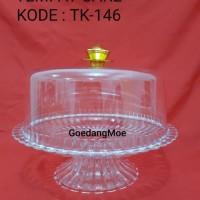 Tempat cake bolu arcylic plastik TK146N