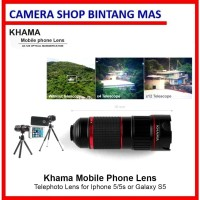 Khama Mobile Phone LensTelephoto Lens for Iphone 5/5s or Galaxy S5
