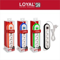 Stop Kontak + Kabel 1.5M. 4 Lubang +1 USB HUB 3.0 (LY-264USB)