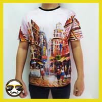 Baju Kaos Pria Distro Bangkok Printing Import Thailand China 01
