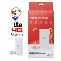 Antena 4G Portable MIMO 4G LTE Konektor TS -9 Penguat Sinyal Wifi