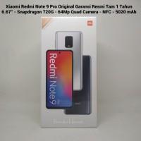 Xiaomi Redmi Note 9 Pro Ram 8GB/128GB Garansi Resmi Tam 1 Tahun