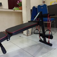 Alat fitness bangku adjustable bench