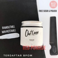 POMADE OUTLAW KHARISMA CLAY PASTE EDITION BY WESLEY HUANG 120 GRAM