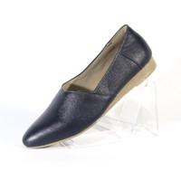 Cevany Sepatu Kerja Wanita Flat Formal Kulit Asli Geovani S - PP02