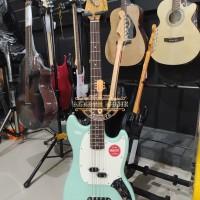 Squier Clasic Vibe 60s Mustang bass, Laurel FB seafoam green,BMJ