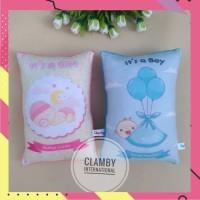 Bantal Custom Nama Baby Boy & Girls Souvenir Anak Kado Bayi Perempuan