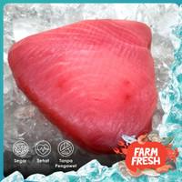 Fillet Ikan Tuna Steak   Premium Frozen   Yellow Fin Tuna