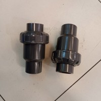 Ball Check Valve Single Union / Watermur PVC 1 1/2  inchi