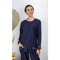 Seragam Baby Sitter Baju Suster Babysitter Uniform Panjang Hijab Batik