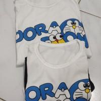 Baju Couple Ibu dan Anak motif Doraemon