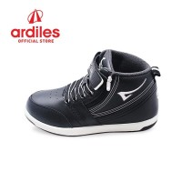 Ardiles Kids Heroic T Sepatu Sneakers Anak - Hitam Putih