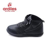 Ardiles Kids Heroic T Sepatu Sneakers Anak - Hitam Hitam