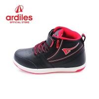 Ardiles Kids Heroic T Sepatu Sneakers Anak - Hitam Merah
