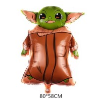 Balon Foil Star Wars Baby Yoda Jumbo Size 80 cm