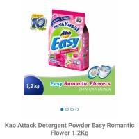 Kao attack detergent powder easy pink 1.2kg