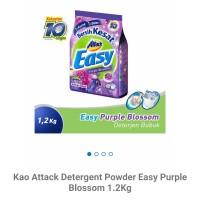 Kao attack detergent powder easy purple 1.2kg
