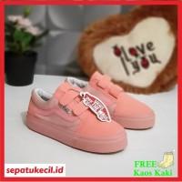 Sepatu Anak Perempuan Vans Kids Pink Size 21 35