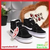 Sepatu Sekolah Anak Boot Vans Boot Hitam Size 25 35 - Vans Anak SK8